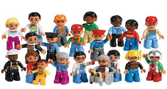 Lego Duplo Leute und Berufe Set.