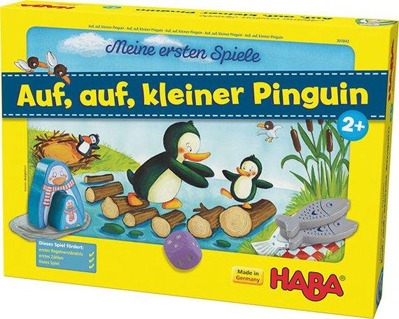 Auf auf kleiner Pinguin.
