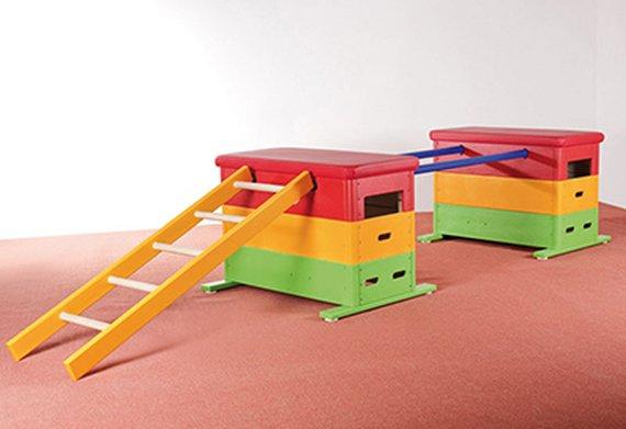 Varia-Mini-Sprungkasten Set NATUR.