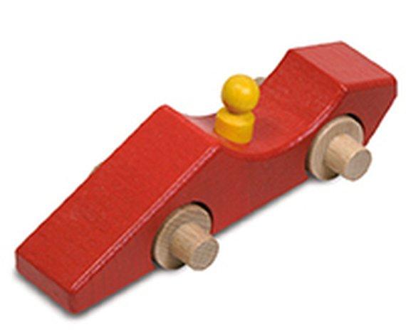 Sprinterauto rood