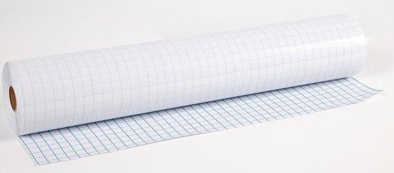 Boekfolie 36 cm. 25 m. rol. 80 Micron Superkwaliteit.