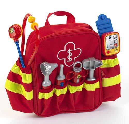 Brandweer eerste-hulp-rugzak.