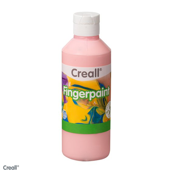 Fingerfarbe rosa 750ml.