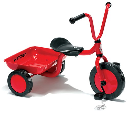 Mini Driewieler met laadbak.