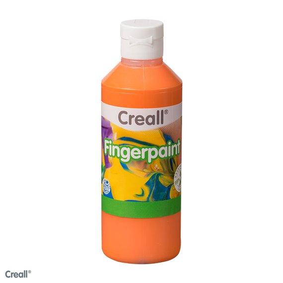 Fingerfarbe orange 750ml.