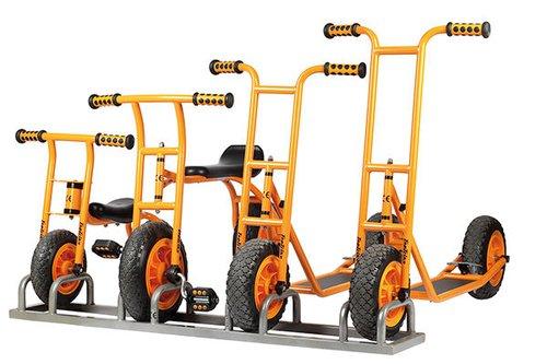Ständer für Roller und Laufräder
