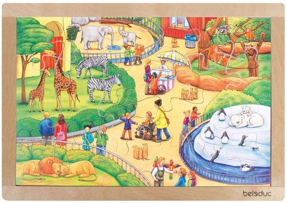 Puzzle Tierpark