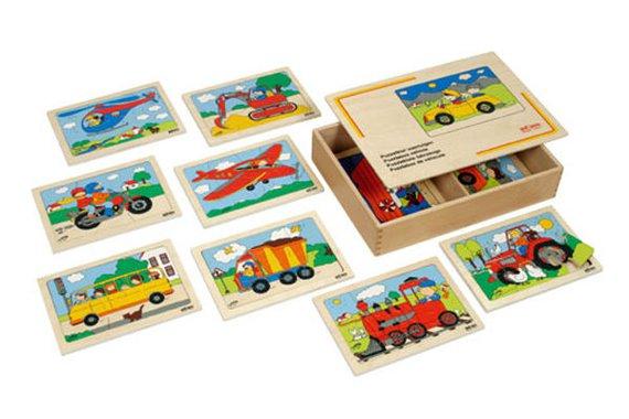 Puzzlekiste Fahrzeuge