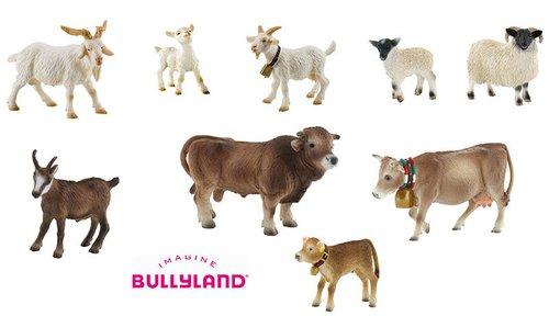 Bauernhoftiere Bullyland Set 2