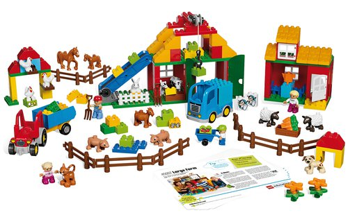Lego Duplo Großes Bauernhof Set.
