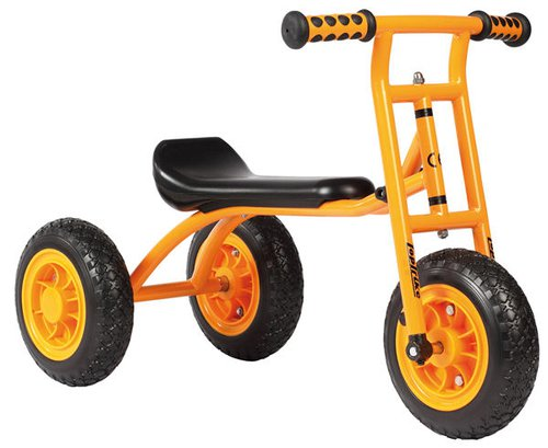 TopTrike Loopfiets met 2 achterwielen