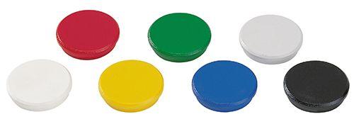 Magnete für Magnetwand/Whiteboard. 10 Stück farblich sortiert. 32mm. Durchmesser