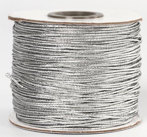Elastiekband Zilver