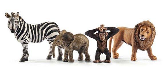 Schleich Starterset Wildlife 1