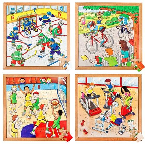 Puzzelset Sport