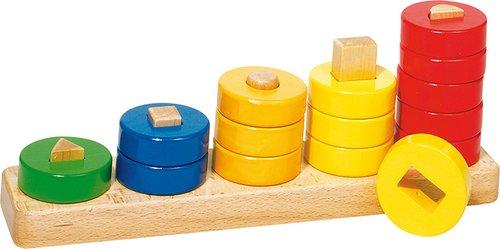 Kleur- en vormsorteerspel