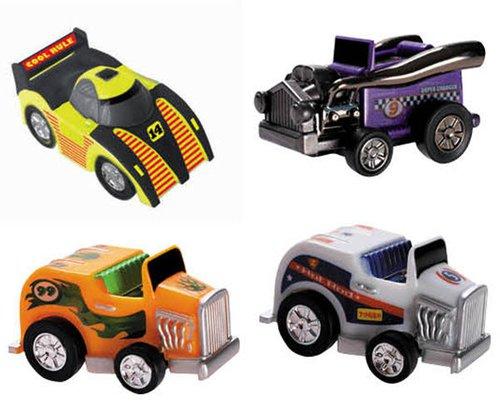 Autos mit Rückziehmotor