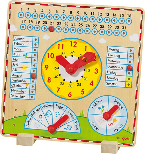 Kalender-Uhr