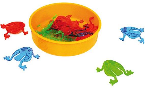 Froschhüpfspiel 6-er Set