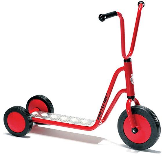 Winther Mini Roller mit 3 Räder.