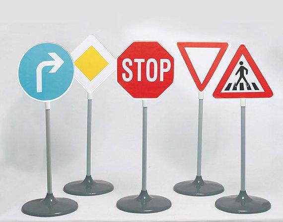 Verkehrsschilder Set 1