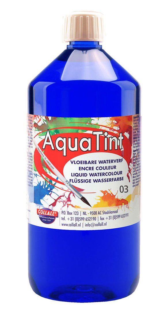 Aquatint d-blau 1000 ml.