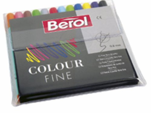 Berol Filzstifte fine (0,6mm. Spitze)