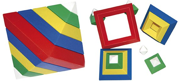 Triangel puzzel aanbieding.