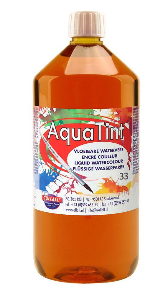 Aquatint orange 1000 ml.