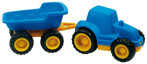 Traktor plus Anhänger.