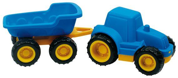 Tractor met aanhanger.