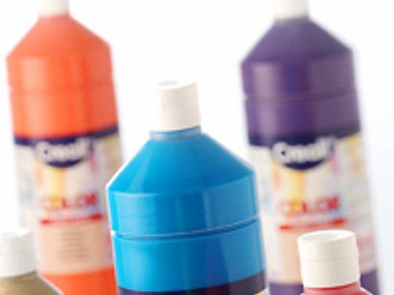 Creacolor sortiert 16 Farben je 1 Flasche.