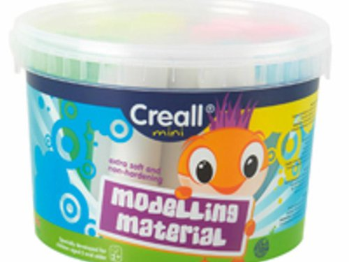 Creall-Mini 5 Farben sortiert.