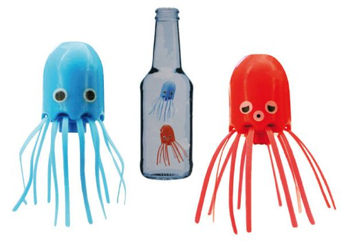 Flessen inktvissen