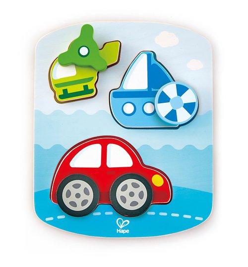 Dynamisches Fahrzeugpuzzle