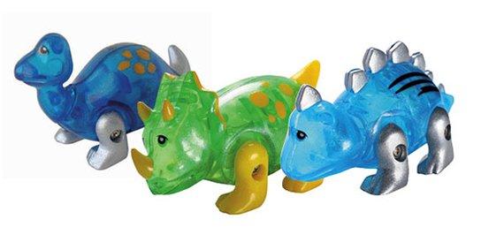 Dinos (3) mit Ausziehmotor