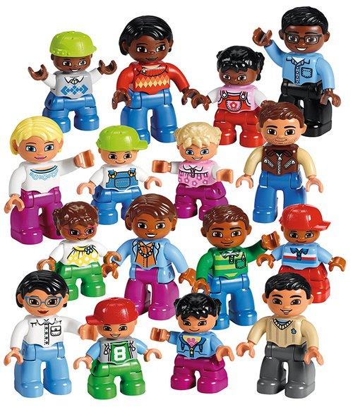 Lego Duplo, mensen uit de hele wereld.