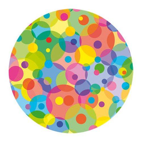 Scheiben Multicolor für Laternen-Rohlinge rund extra stark 115 g/m²