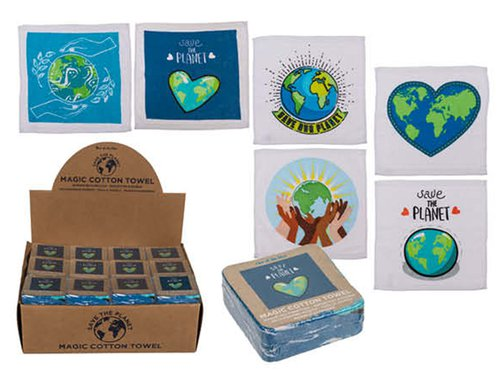 Magisches Handtuch Save the Planet