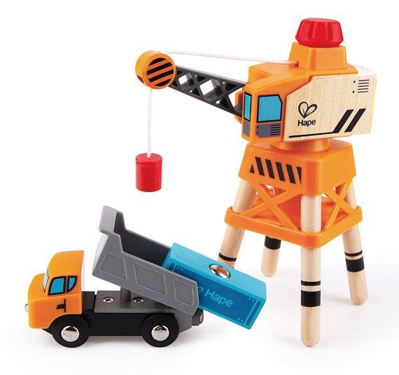 Kraan + Vrachtwagen