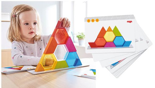 Stapelspiel Farbkristalle