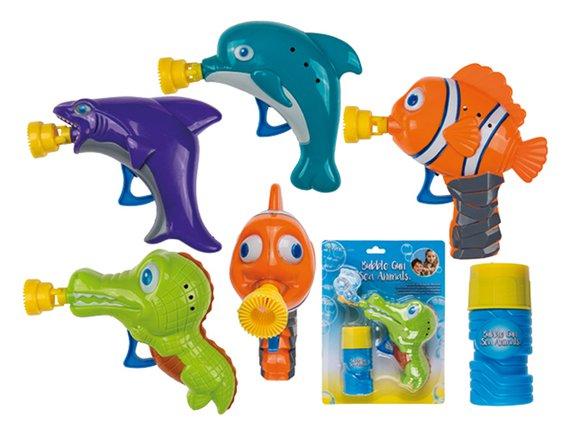Seifenblasen Wassertiere