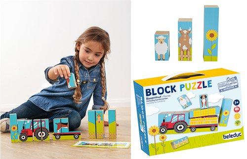 Blockpuzzle Bauernhof