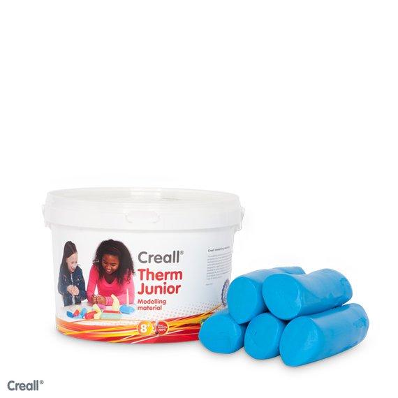 Creall-therm klei 2000 gram blauw