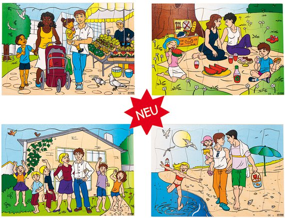 Puzzleserie neue Familien