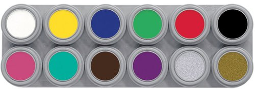 Schminkkasten 12 Farben je 3 ml