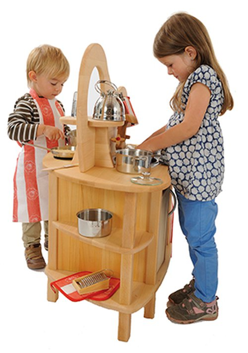 Kinderküche freistehend.