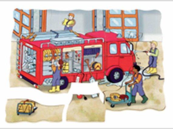 Puzzel Brandweer 5-lagig