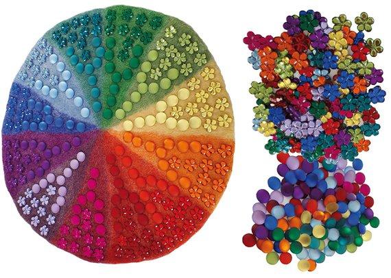 Edelsteine zum Farbkreis