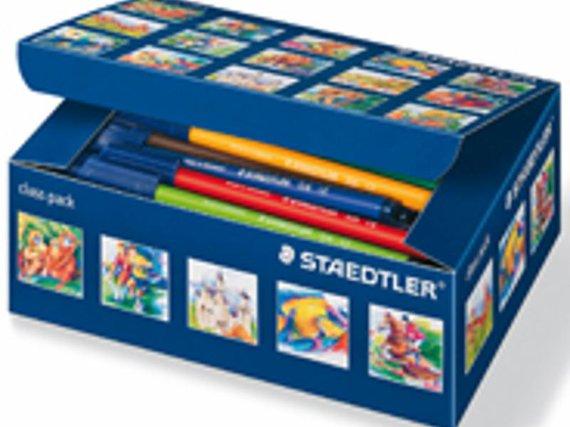 Viltstiften Staedtler schoolbox